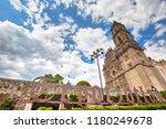 mexico  tepotzotlan francisco... | Shutterstock . vector #1180249678