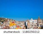 guanajuato  mexico  scenic old... | Shutterstock . vector #1180250212