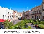 guanajuato  mexico april 22 ... | Shutterstock . vector #1180250992