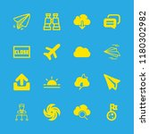 cloud icons set with close... | Shutterstock .eps vector #1180302982