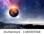 our unique universe | Shutterstock . vector #1180305568
