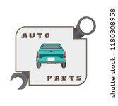 car illustration. design... | Shutterstock .eps vector #1180308958