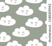 cute. the cloud. seamless...   Shutterstock .eps vector #1180309042