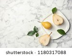 flat lay composition with ripe... | Shutterstock . vector #1180317088