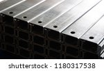 steel bar zinc coating used in... | Shutterstock . vector #1180317538