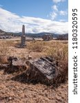 antique cemetery located at san ... | Shutterstock . vector #1180320595