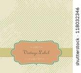 vector vintage scrapbook paper... | Shutterstock .eps vector #118032346