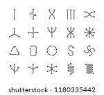 set of springs and flexibility... | Shutterstock .eps vector #1180335442