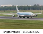 ilyushin il 96 400 ra 96104 of... | Shutterstock . vector #1180336222