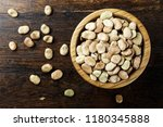Raw Dry Beans In A Plate On A...