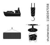 vector design of goods and... | Shutterstock .eps vector #1180347058