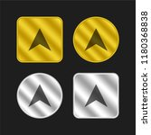 compass gold and silver...