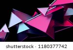 abstract 3d rendering of... | Shutterstock . vector #1180377742
