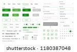 vector ui kit. web template