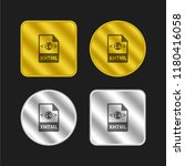 xhtml icon file format gold and ...