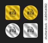 zip file format gold and silver ...