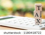 pay annual income  tax  for the ...   Shutterstock . vector #1180418722
