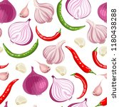 seamless pattern with onions ...