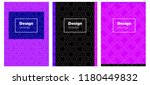 light pink  blue vector...   Shutterstock .eps vector #1180449832