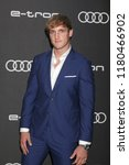 Small photo of LOS ANGELES - SEP 13: Logan Paul at the Audi Pre-Emmy Party at the La Peer Hotel on September 13, 2018 in West Hollywood, CA