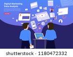 flat design concept digital... | Shutterstock .eps vector #1180472332