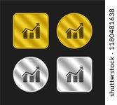 increasing stocks graphic of...