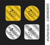 binary code loading symbol gold ...