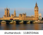 Big Ben And Houses Of...