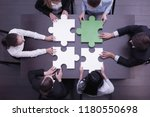 group of business people... | Shutterstock . vector #1180550698