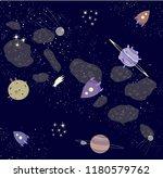 vector image. space wallpaper....   Shutterstock .eps vector #1180579762