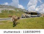melchsee frutt  switzerland   4 ...   Shutterstock . vector #1180580995