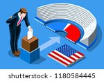 symbol of republican government.... | Shutterstock .eps vector #1180584445