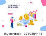 ethereum cryptography or... | Shutterstock .eps vector #1180584448