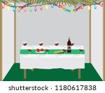 jewish holiday traditional... | Shutterstock .eps vector #1180617838
