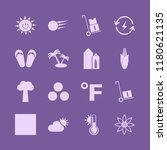 sunny icon. sunny vector icons...   Shutterstock .eps vector #1180621135