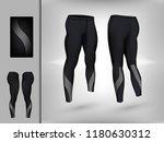 visual drawing of model pants... | Shutterstock .eps vector #1180630312