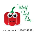 world food day food day... | Shutterstock .eps vector #1180654852