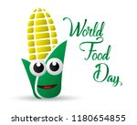 world food day food day... | Shutterstock .eps vector #1180654855