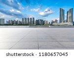 panoramic skyline and modern... | Shutterstock . vector #1180657045