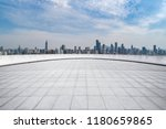 panoramic skyline and modern... | Shutterstock . vector #1180659865