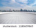 panoramic skyline and modern... | Shutterstock . vector #1180659865