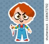 chucky vector illustration...   Shutterstock .eps vector #1180672702