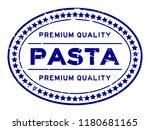 grunge blue premium quality... | Shutterstock .eps vector #1180681165