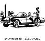 drive in burgers   retro... | Shutterstock .eps vector #118069282