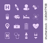 healthcare icon. healthcare... | Shutterstock .eps vector #1180697938