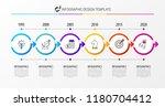 infographic design template....   Shutterstock .eps vector #1180704412