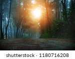 landscape background road and... | Shutterstock . vector #1180716208