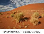 sand dune in sossusvlei. namib... | Shutterstock . vector #1180732402