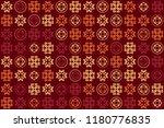 beautiful  vintage pattern... | Shutterstock .eps vector #1180776835