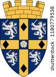 coat of arms of durham is a... | Shutterstock .eps vector #1180779538